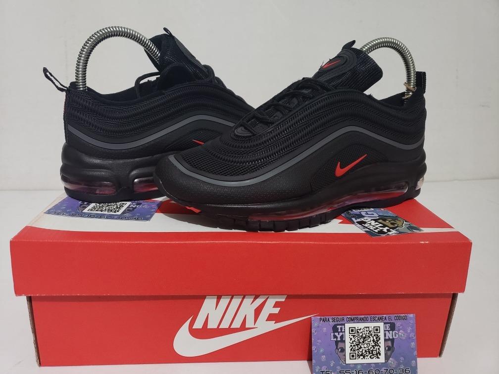 57830d3708e28 ... reduced tenis nike air max 97 negro rojo hombre en caja envio gratis. cargando  zoom