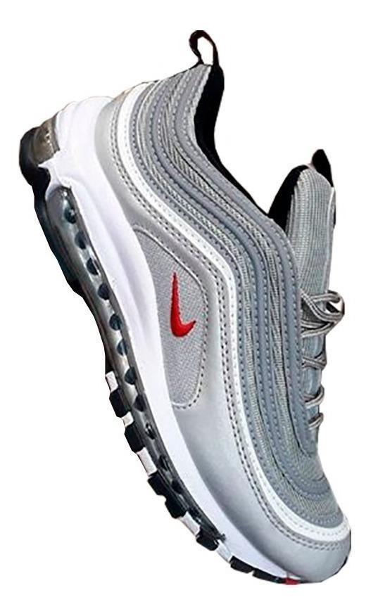 Tenis Nike Air Max 97 Plateada Gris Hombre Zapatillas Origin