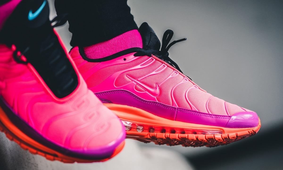 los angeles 850e9 a21e2 Tenis Nike Air Max 97 Plus Racer Pink Originales 90 Retro