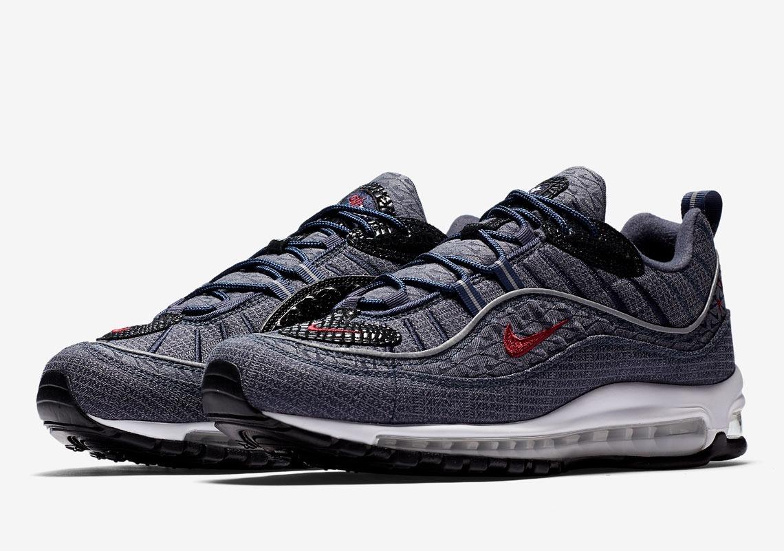best sneakers 09a08 0bc74 Tenis Nike Air Max 98 Qs Retro Sneakers Casual Original