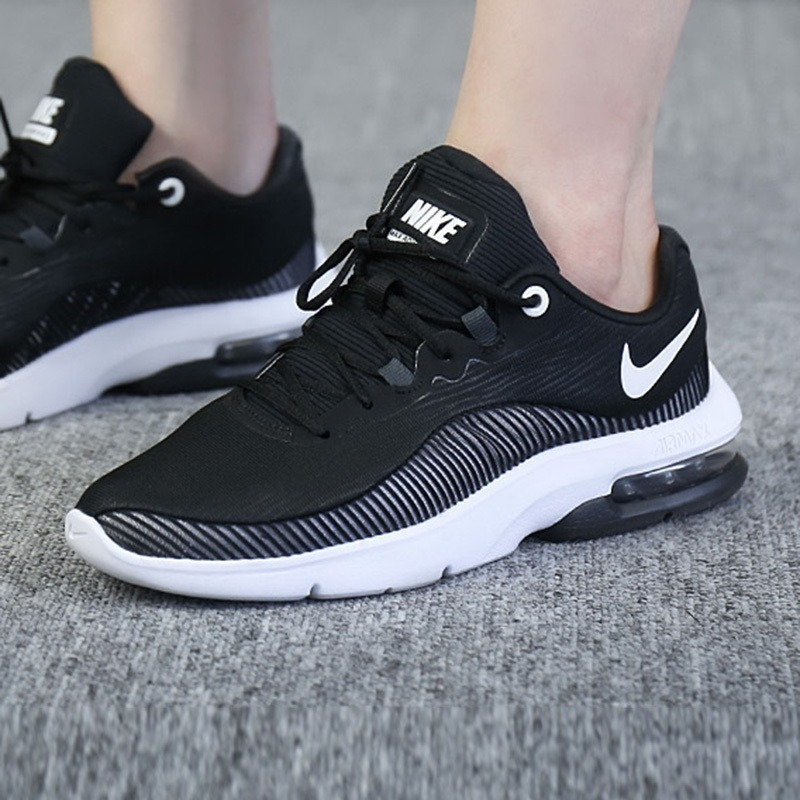 Tenis Nike Air Max Advantage 2 Negro Blanco Dama 23 26