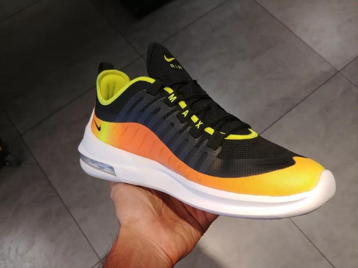 Hombre Nike Premium Tenis Originales Air Max Axis Multicolor