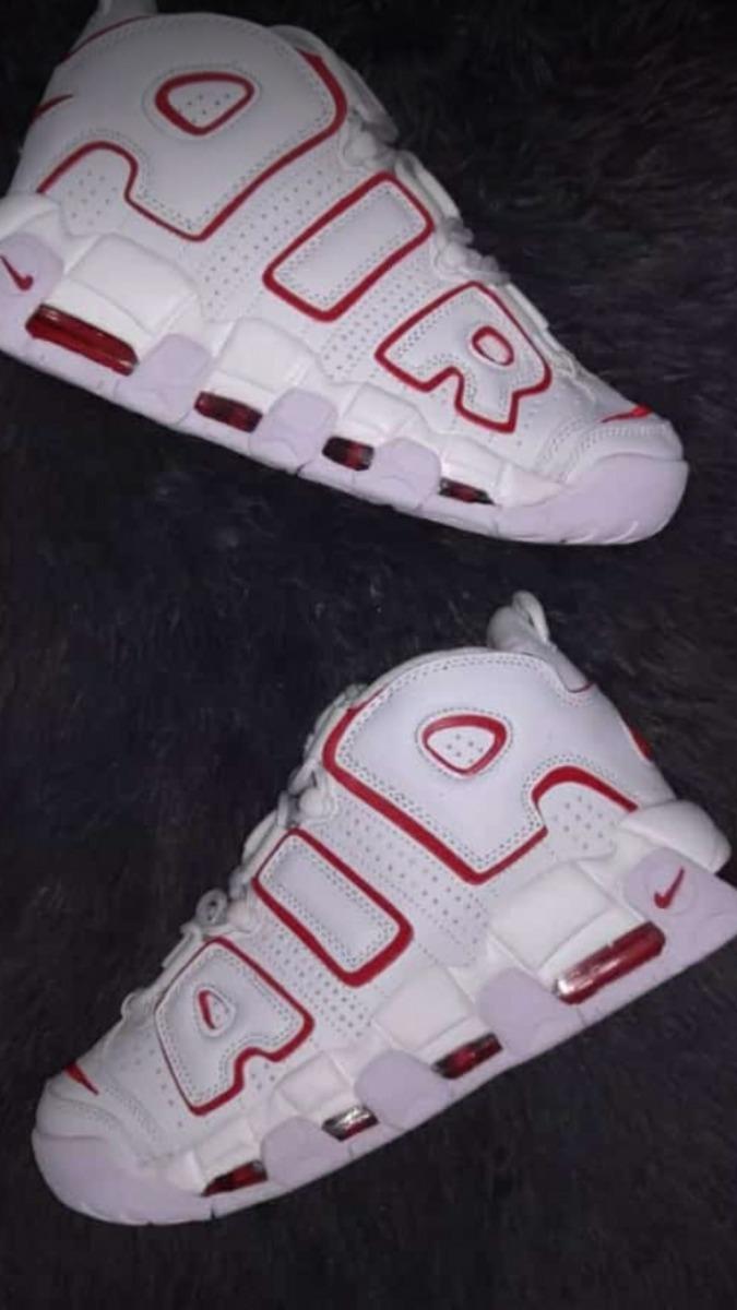official photos ba0c6 1bf21 tenis nike air max bota tempo blancos con rojo, zapatillas. Cargando zoom.