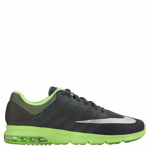 tenis nike verdes con negro