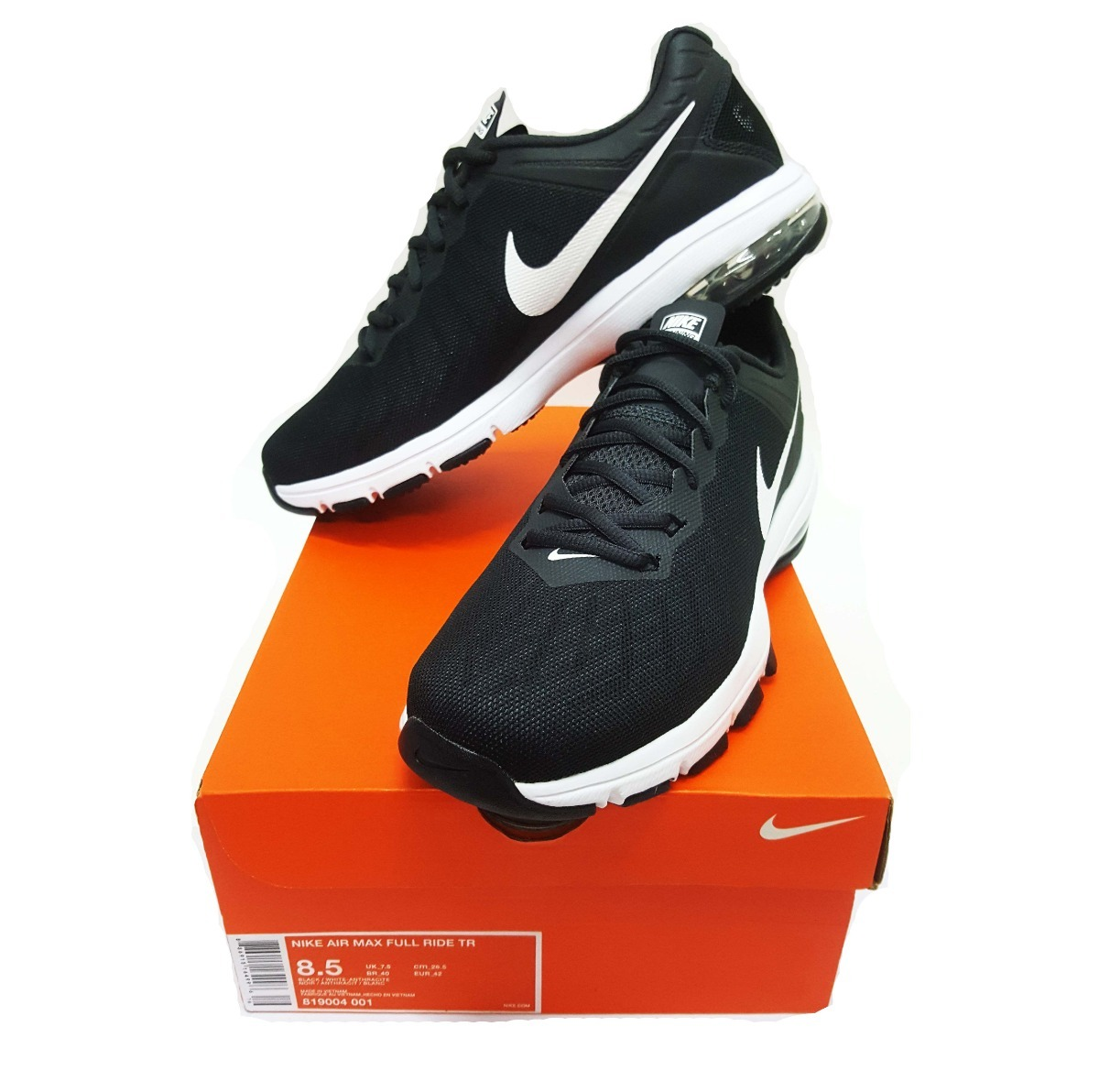 tenis nike air max full ride tr 819004-001. Cargando zoom. 068e25bcad7cd