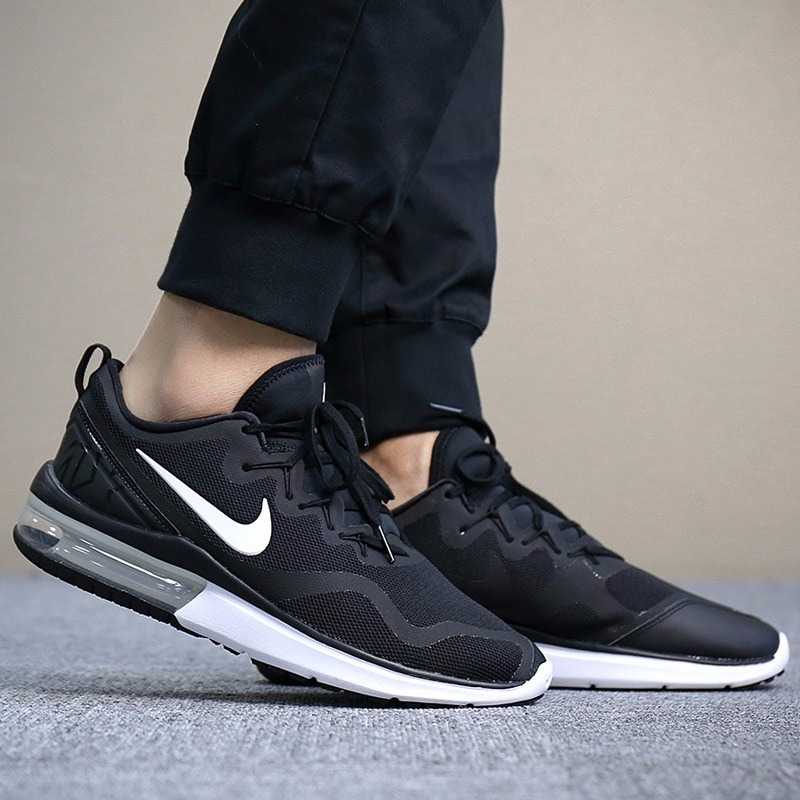 tenis nike air max fury negro valvula correr train originale. Cargando zoom. f21b0cdc8af