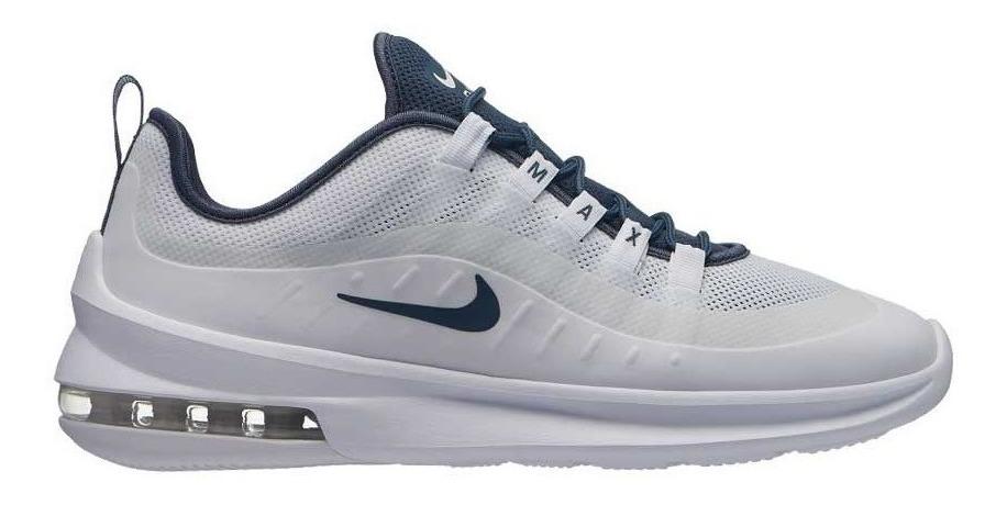 Tenis Nike Air Max Hombre Caballero Casual Axis 6105 Blanco