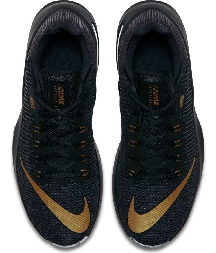 Tenis Nike Hombre Nike Air Max Infuriate 2 Low Rojo y