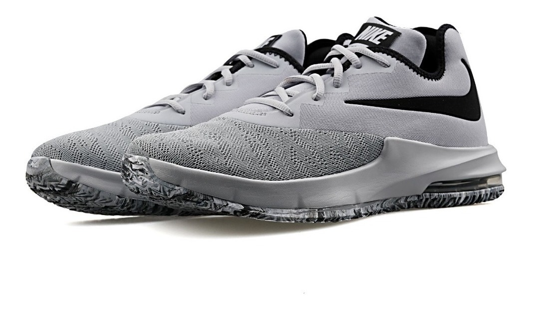 Nike air max infuriate iii low Negro plomo Hombres