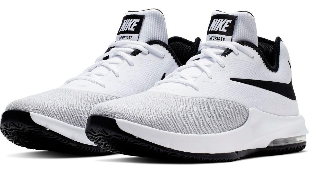 gran descuento venta en venta garantía de alta calidad Tenis Nike Air Max Infuriate Iii Mid Blanco Caballero 2019