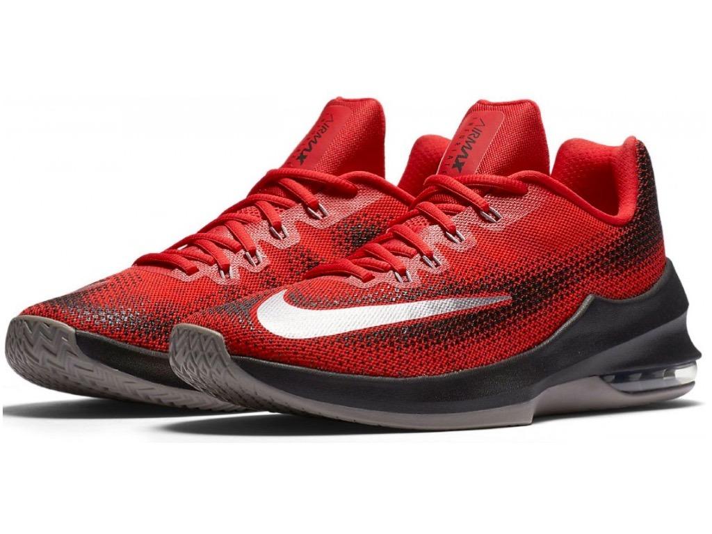 Tenis Nike Air Max Infuriate Low 852457 600 Johnsonshoes Eg