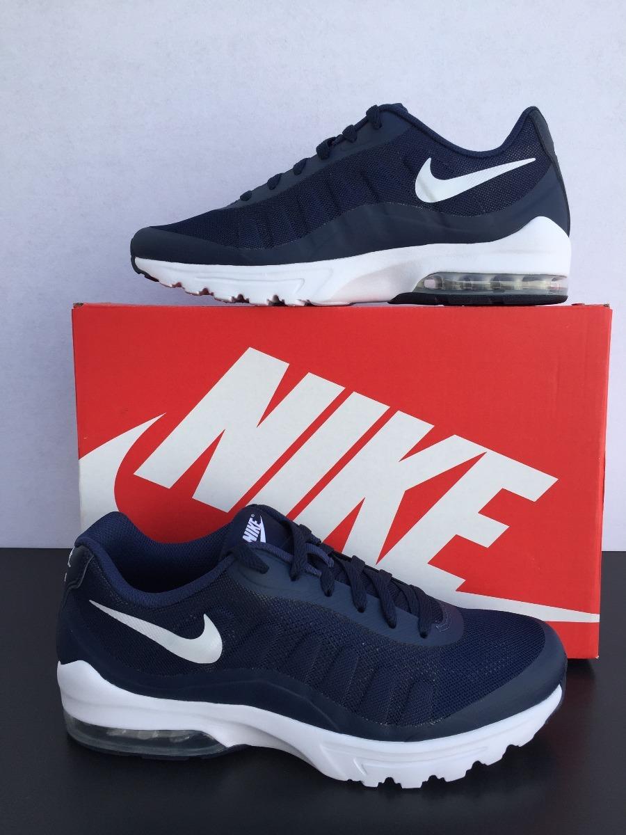 finest selection 1ac7d a1139 tenis nike air max invigor azul