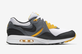 Tenis Nike Air Max Light Gris, Blanco, Negro, Amarillo #27cm