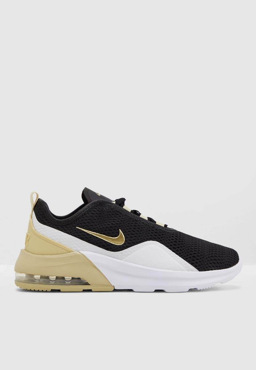 Tenis Nike Air Max Motion 2 Dama Negro Dorado 2019