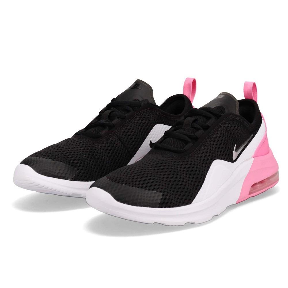 Tenis Nike Air Max Motion 2 Dama Negro Rosa 2019