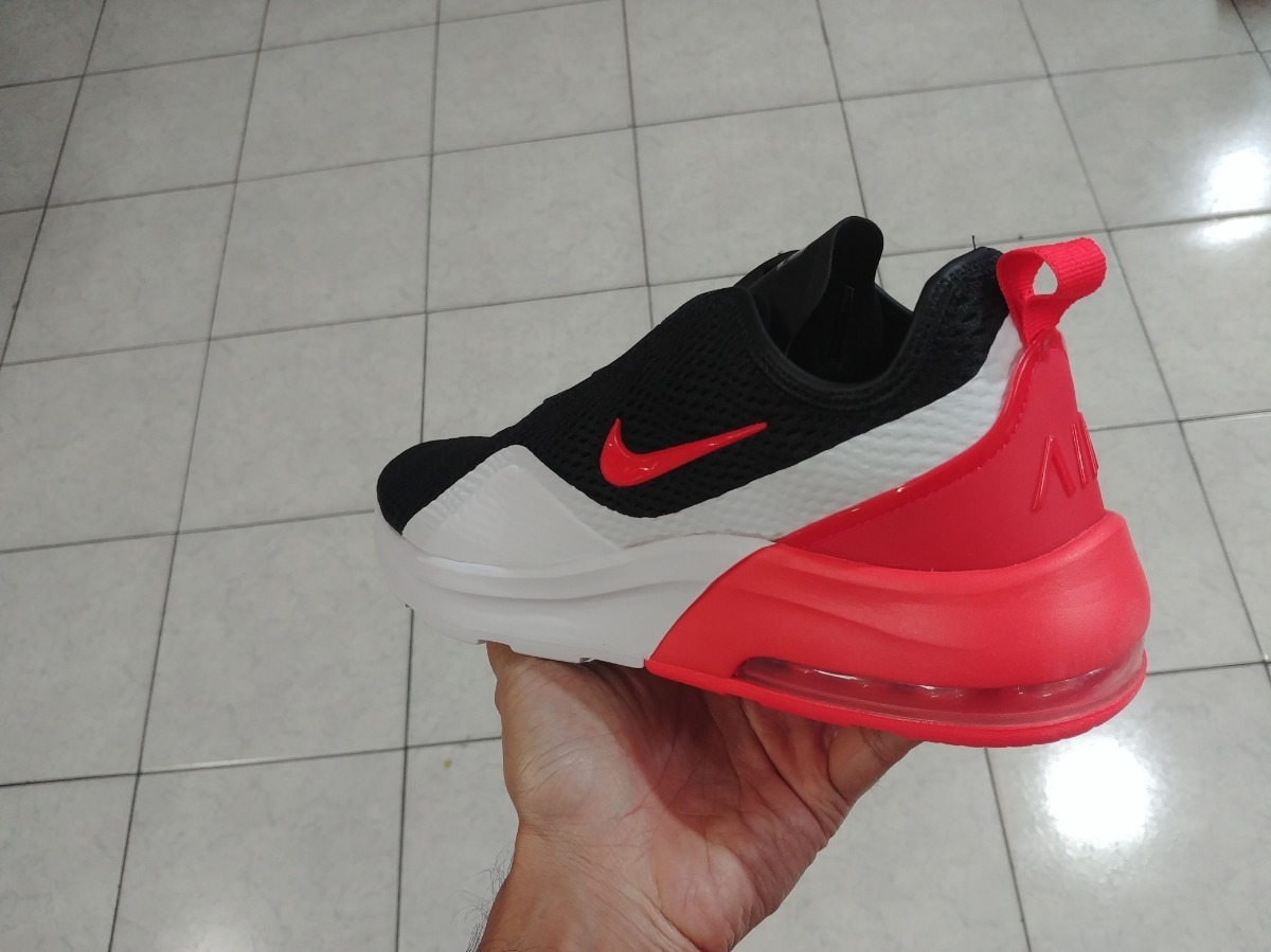 b7540eef59b30 tenis nike air max motion 2 negro rojo hombre urban original. Cargando zoom.