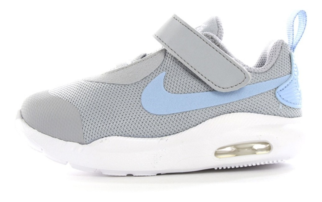 Tenis Nike Air Max Oketo Tdv [ar7422 002] Gris Válvula Bebé