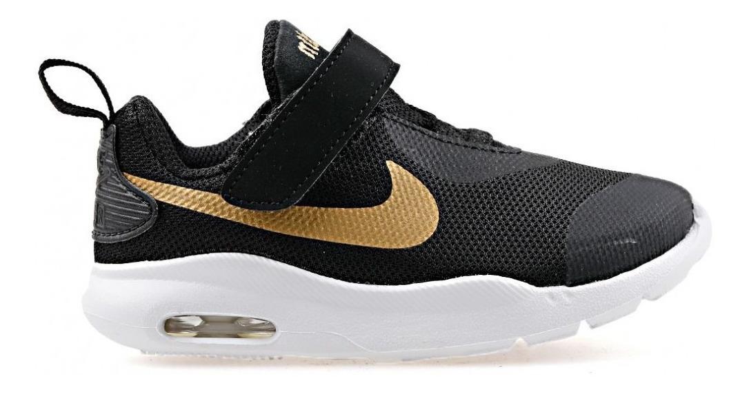 Tenis Nike Air Max Oketo Tdv At6658 001 Black Primeros Pasos #12 Al #16 Envío Gratis