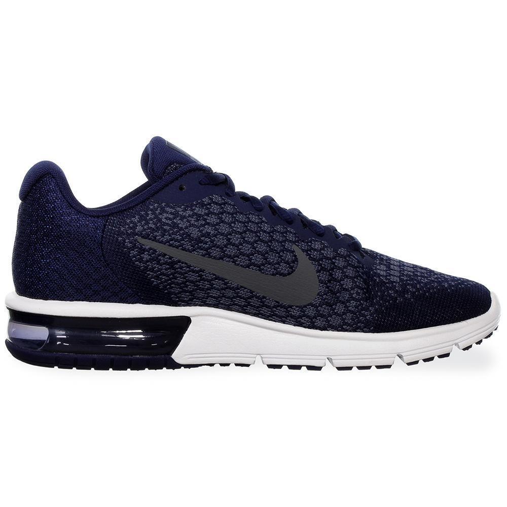 Tenis Nike Air Max Sequent 2 852461406 Azul Marino Hom