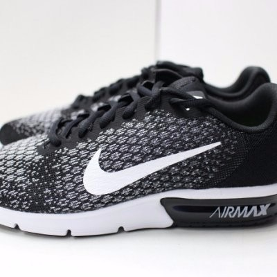 online store fd610 5d291 Tenis Nike Air Max Sequent 2 Nike Negro 2017 Caballero