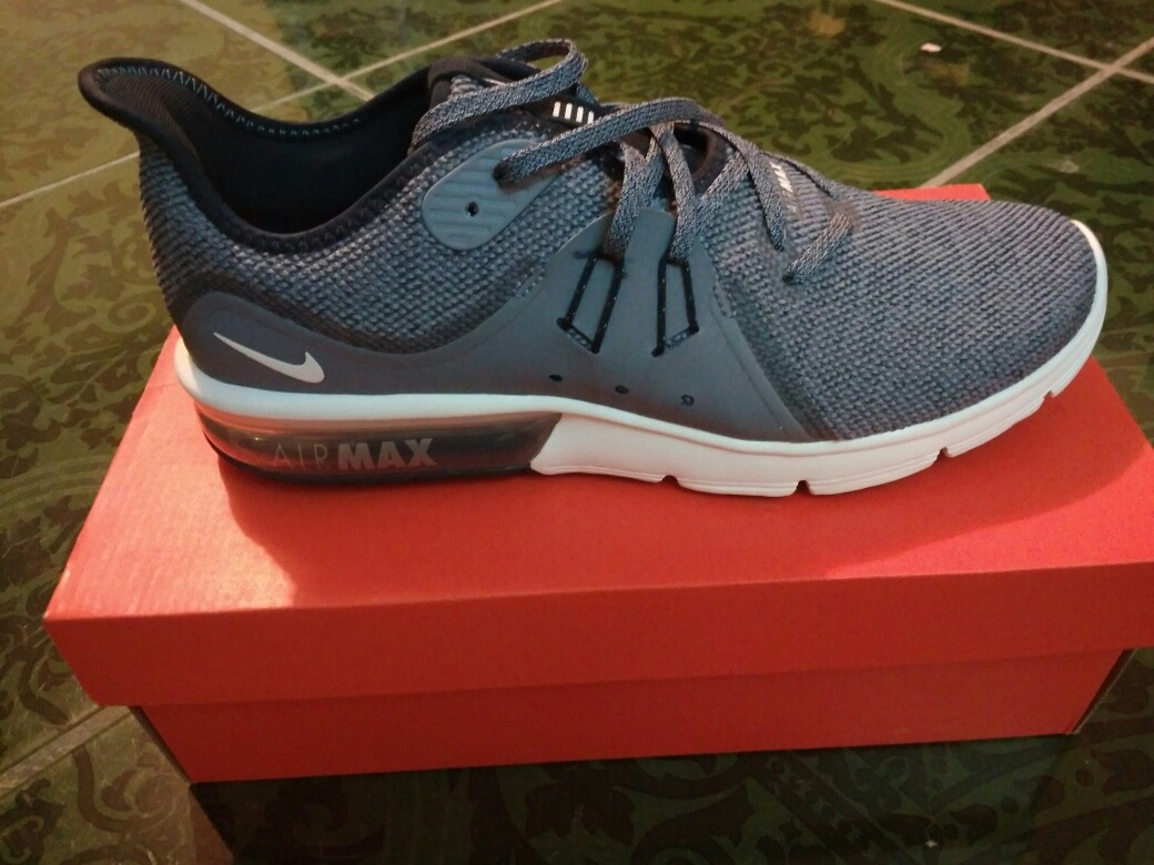 more photos aa40a f80ff tenis nike air max sequent 3 921694-402. Cargando zoom.