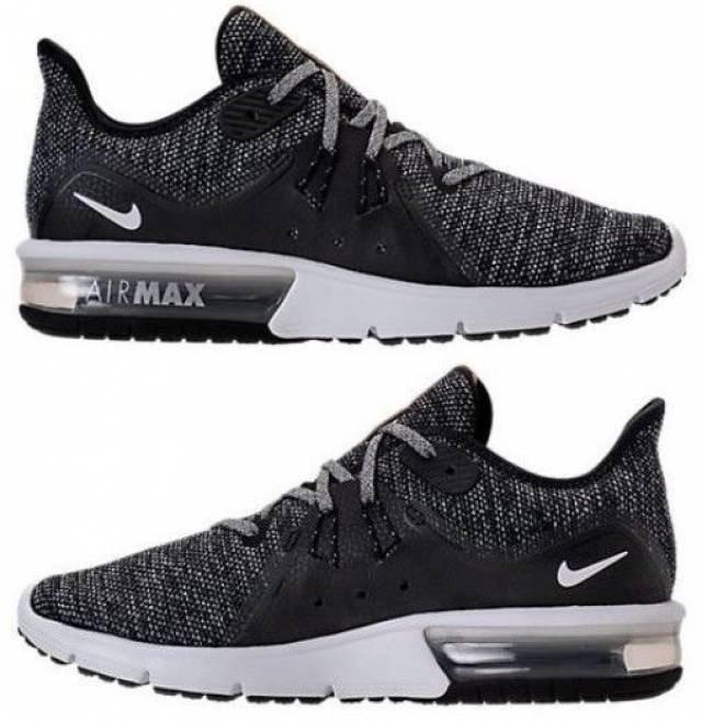 849c7a67fbd Tenis Nike Air Max Sequent 3 Gris Talla   6.5 Original -   1