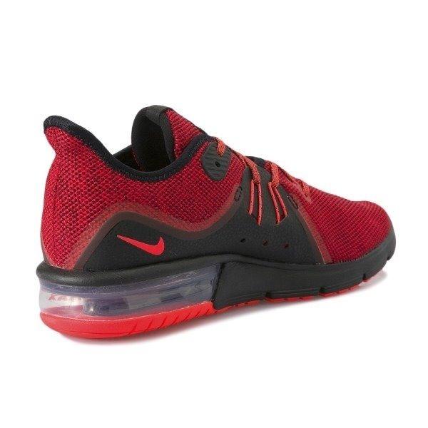 Tenis Nike Air Max Sequent 3 Rojo negro Caballero 2018 -   1 61994301c86