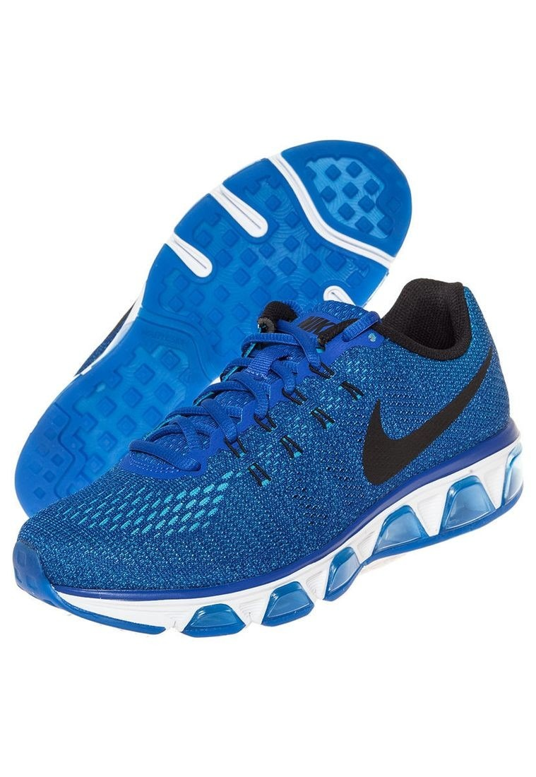 tenis air max azules