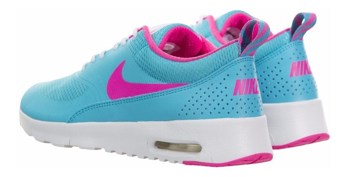 air max thea azul e rosa