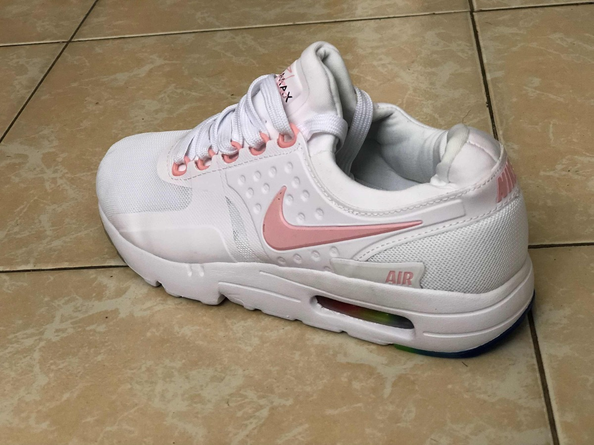 531bf61c66cb6 ... germany tenis nike air max zero be true blanco paloma rosa. cargando  zoom. 3191e