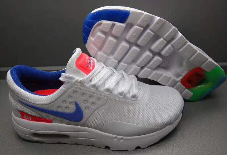 da0aba6f32ae3 ... sale tenis nike air max zero be true white and blue orange 3219f 996f3  ...