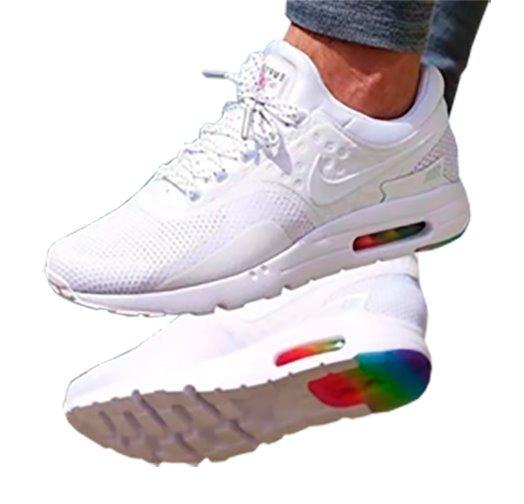 Tenis Nike Air Max Zero Blanca Hombre Zapatillas Original