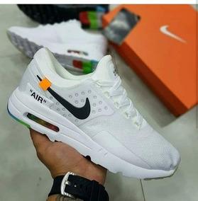 Zapatillas Nike Air Max Zero Blanca Negra Hombre Tenis Origi
