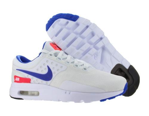 tenis nike air max zero qs white  original