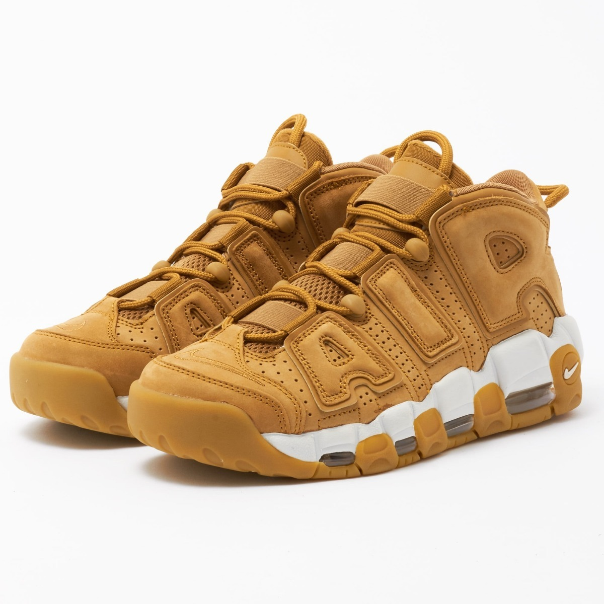 outlet store 41ea4 17b4b tenis nike air more uptempo 96 flax originales retro pippen ...