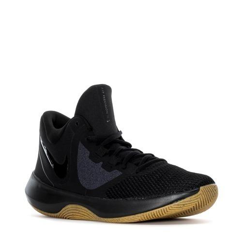 23a952413cc9e Tenis Nike Air Precision Ii Monocromo Negro Zx 24.30 -   1