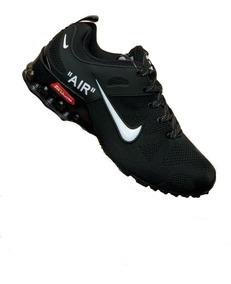zapatillas negras nike hombre