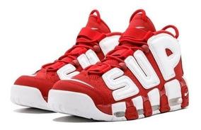 Tenis Nike Air Uptempo Supreme Hombre