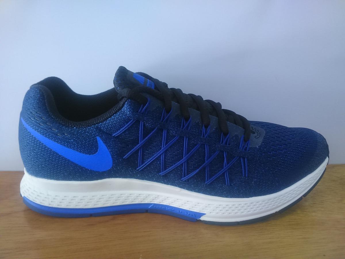 b06b6f67ee827 Tenis Nike Air Zoom Pegasus 32 Azul Marino Caballero -   1