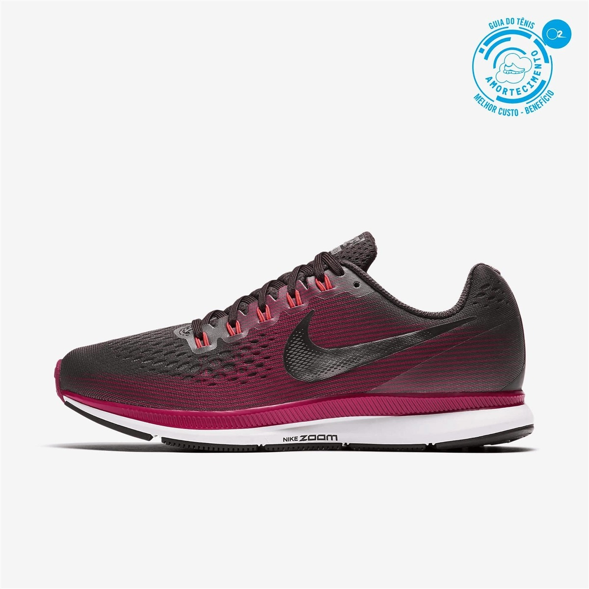 Tenis Nike Air Zoom Pegasus 34 Gem Feminino Original Nota