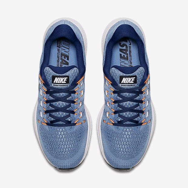 823e48a32ef Tenis Nike Air Zoom Vomero 12 Azul Original - Netfut - R  499