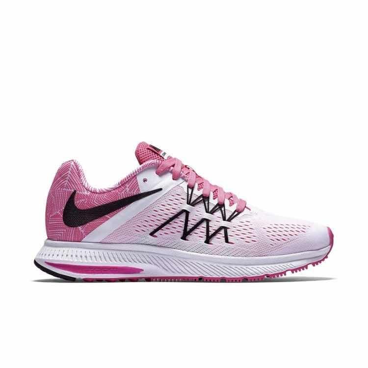 newest e473c 34df0 tenis nike air zoom winflo 3 premium para dama rosa con nma