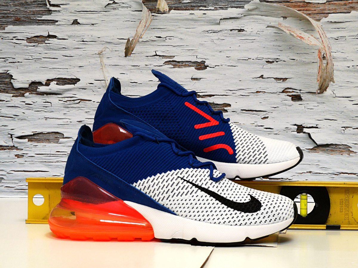 60fede96da552 Tenis Nike Airmax 270 Air Max 270 Flyknit 27 En Caja -   1