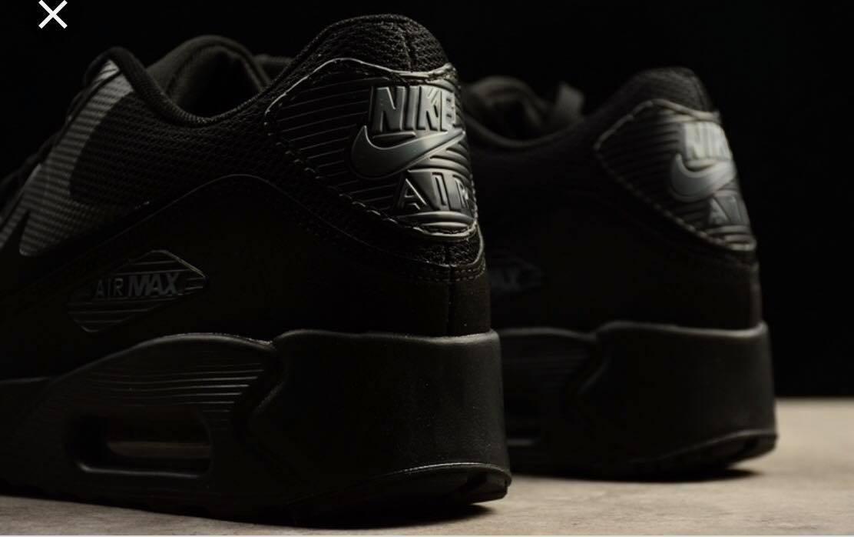 Tenis Nike Airmax 90 Black Casual Sport