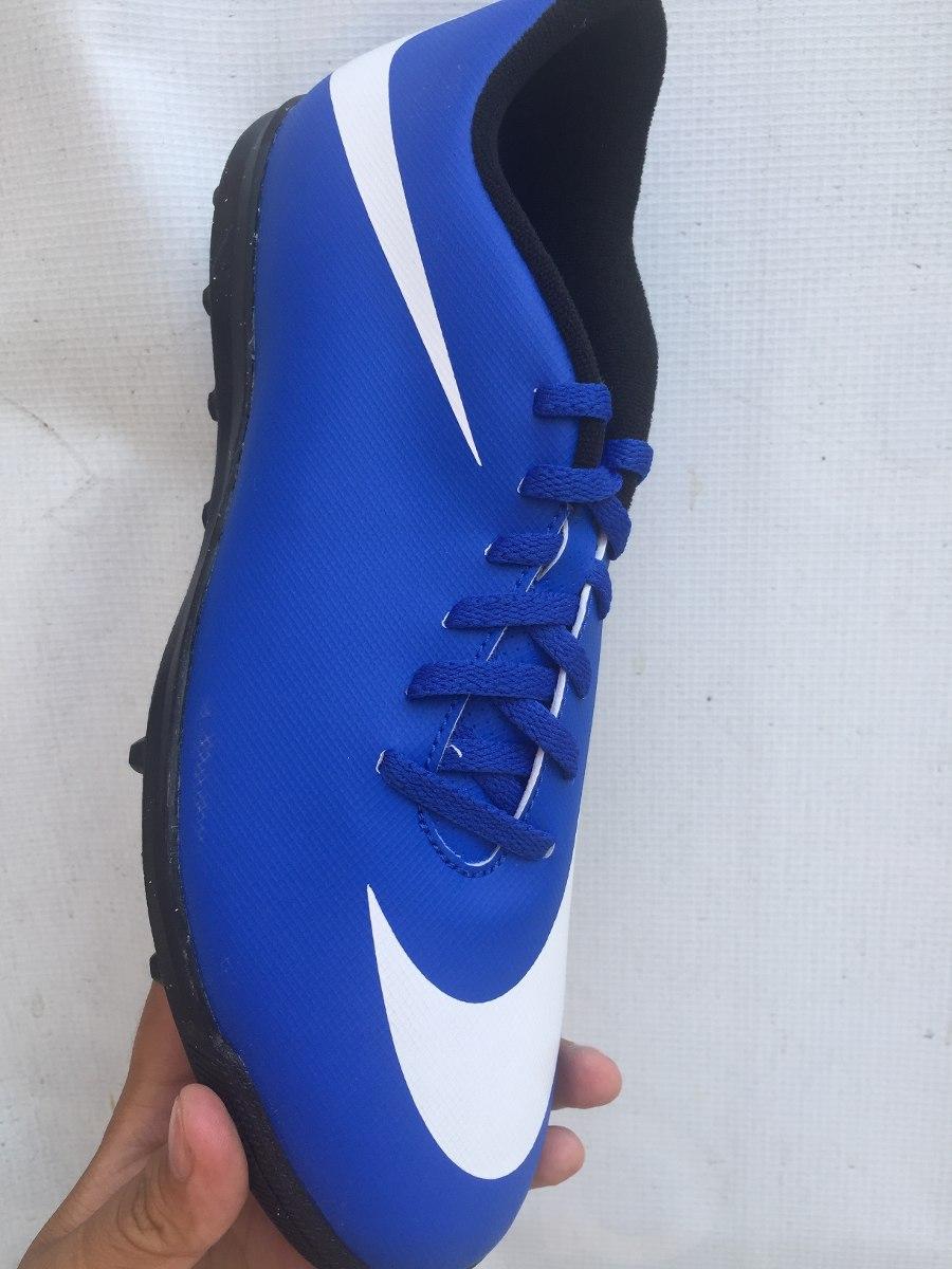 Tenis Nike Azul Con Blanco Económico Turf Con Caja -   699.00 en ... c1e2184a6ea10