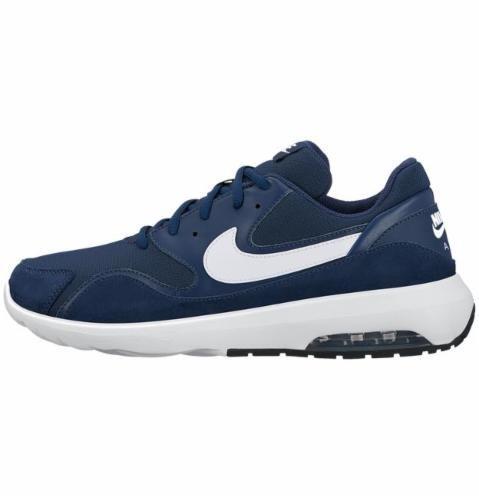 0cdd6557aa1f5 Tenis Nike Azul Marino Con Blanco Deportivos -   1