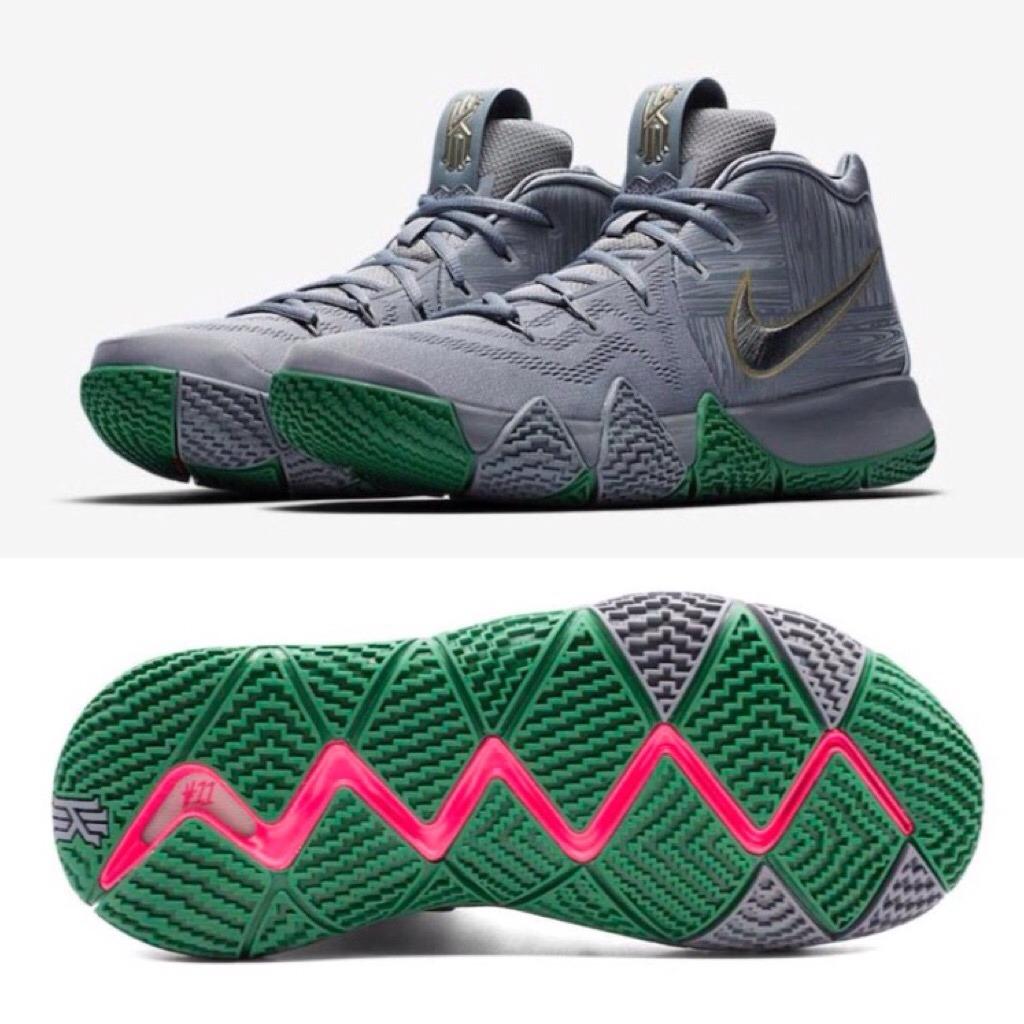 online store 3b7ef af057 Tenis Nike Basquet Kyrie 4 Gris - Kyrie Irving (#5 Al 8.5)