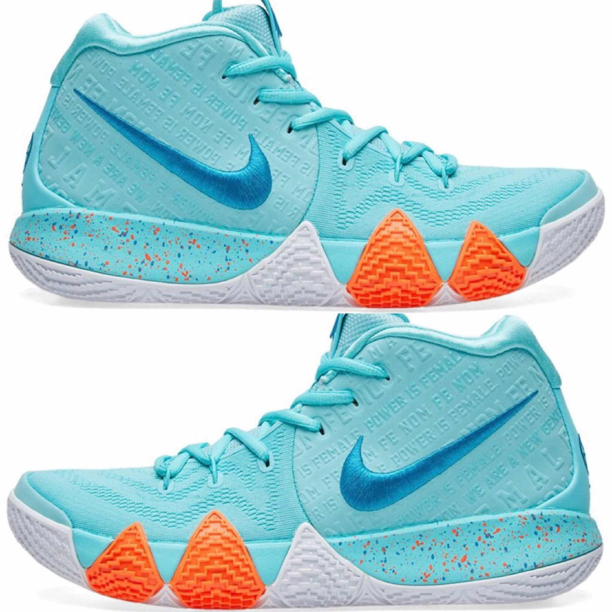 917f4699211 tenis nike basquet kyrie 4 power is female  28.5 cm + caja. Cargando zoom.
