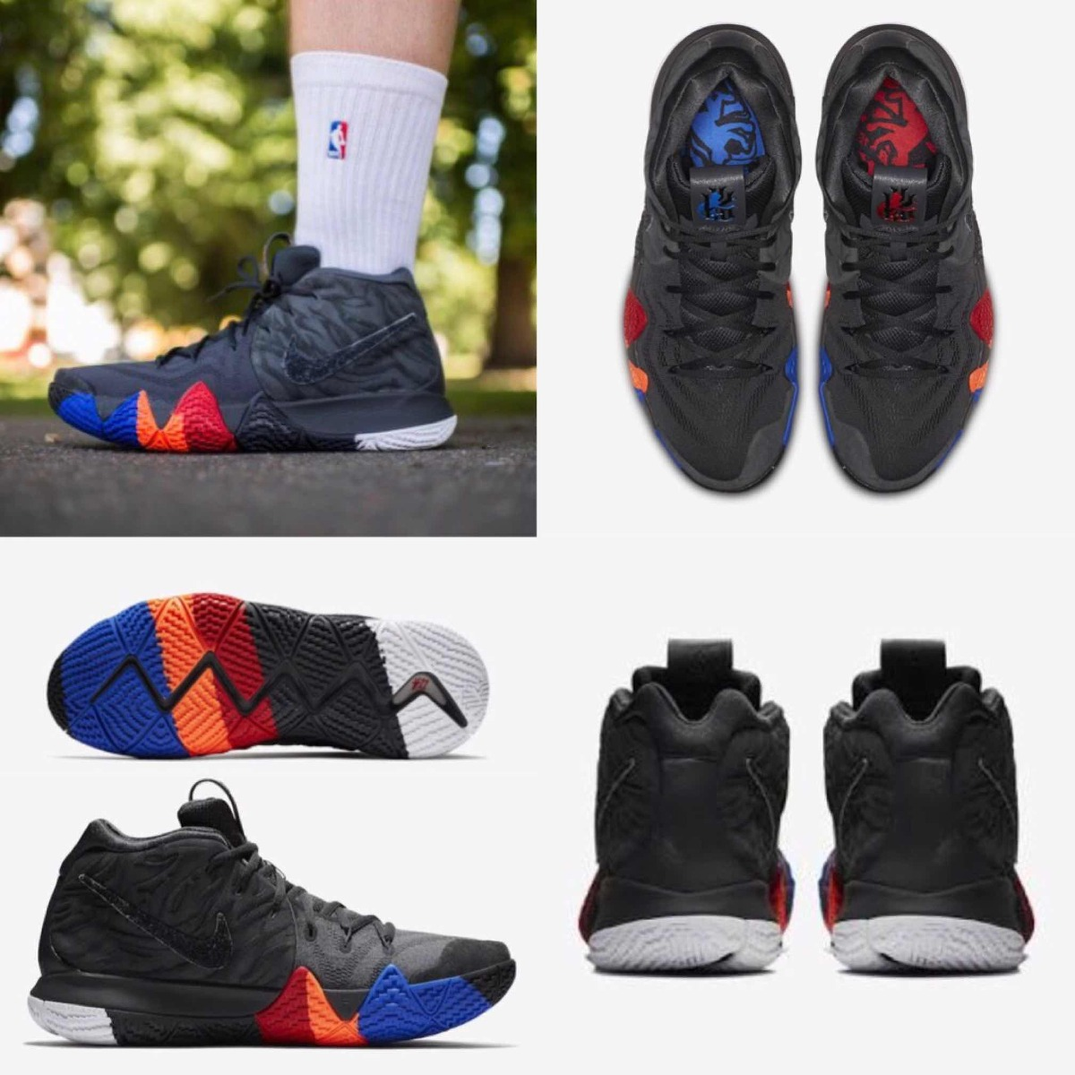huge sale 1e3c7 e8b30 Tenis Nike Basquet Kyrie 4 // Year Of The Monkey #25 Al 31 /