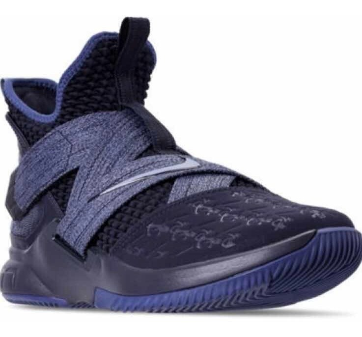 size 40 fe3c2 311c4 Tenis Nike Basquet Lebron Soldier Xii Azul / # 25 Y 27.5 Mx